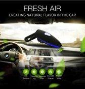 Auto luchtreiniger met Ionisator - Verwijderd Rooklucht & Nare geurtjes - Helpt tegen hooikoorts en wagenziekte