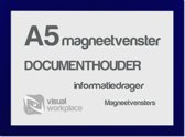Magneetvensters A5 - Blauw