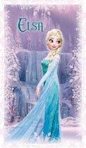 Disney Frozen Cascade - Strandlaken - 70 x 120 cm - Lila