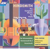 Hindemith: The Complete Works for Viola Vol 1 / Paul Cortese