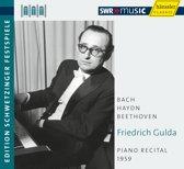 Gulda: Klavierabend 1959