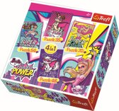 4 in 1 -  Barbie - Princess Power Puzzel