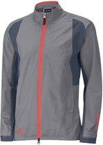 Adidas Golf Jack Paclite Gore-tex Lange Rits Heren Grijs Mt M