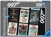 Ravensburger James Bond 007 Retro - Puzzel van 500 stukjes