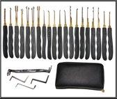 Goso Lockpick Set (25-delig) - Lockpicking Tool Voor Beginners en Gevorderden