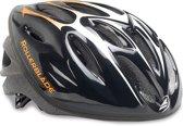 Rollerblade Workout Skatehelm Senior  Helm - Unisex - zwart/oranje/wit
