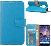 Nokia 6.2 - Bookcase Turquoise - portemonee hoesje
