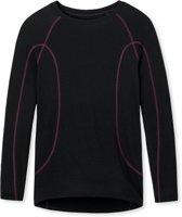 Schiesser - Thermo T-shirt Zwart - XL