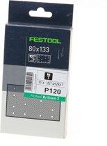 Festool Schuurstrook - 80 x 133 - Korrel 120 - 10 stuks