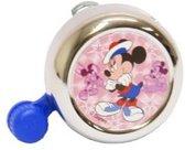 Widek Chroom - Fietsbel - Mickey Mouse - Roze