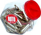 Roto Co2-patronen 12 Gram Met Schroefdraad 60 Stuks