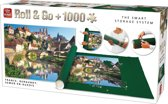 King ROLL&GO - Puzzelrol Opbergsysteem - Inclusief Puzzel 1000 Stukjes - Landschap Frankrijk