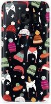 Galaxy S7 Hoesje Winter Hats