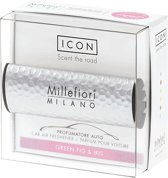 Millefiori Milano Auto parfum Green Fig & Iris (Metal Shades)