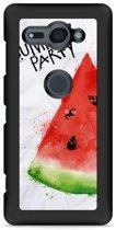 Xperia XZ2 Compact Hardcase Hoesje Watermeloen Party