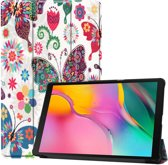 Samsung Galaxy Tab A 10.1 (2019) Hoesje - Smart Book Case - Vlinder