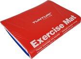 Tunturi Aerobic mat - Fitnessmat - Oefenmat - 180 cm x 60 cm x 2,5 cm - Rood/Blauw