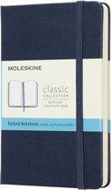 Moleskine Classic Notebook - Pocket - Dotted - Hard Cover - Sapphire Blue