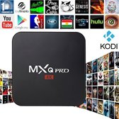 Android 7.1 tv box MXQ PRO 4K Ultra HD + Kodi 17.1 + GRATIS Rii I8 Zwart Wireless keyboard