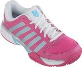 K-Swiss Express LTR HB Tennisschoen Tennisschoenen - Maat 39 - Vrouwen - roze/wit/zilver/blauw