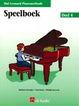 Speelboek De Hal Leonard Piano Methode 4