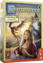 Carcassonne: De Draak, de Fee en de Jonkvrouw Bordspel