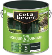 Cetabever Tuin Schuur & Tuinhuis Beits - Dekkend - Donker Groen - 2,5 liter