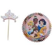 Disney Prinsessen cupcake combo set