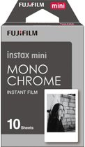 Fujifilm Instax Mini Film - Mono Chrome - 10 stuks