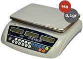 MyWeigh CTS-6000 telweegschaal 6kg x 0.1gr