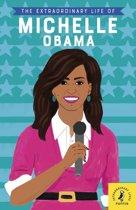 Boekomslag van 'The Extraordinary Life of Michelle Obama'
