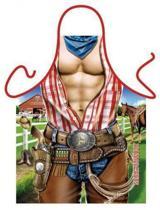 Cowboy - Sexy Grappig Leuk Schort Keukenschort