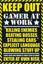 GAMERS - Poster 61X91 - Gaming Keep Out