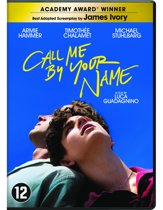 DVD cover van Call Me By Your Name