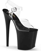 EU 35 = US 5 | FLAMINGO-808 | 8 Heel, 4 PF Ankle Strap Sandal