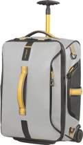 Samsonite Reistas Met Wielen - Paradiver Light Duffle/Wh 55/20 Backpack (Handbagage) Grey/Yellow