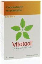 Vitotaal® Rhodiola- 45 capsules - Voedingssupplement