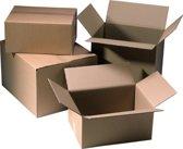 20x kartonnen dozen, 300x 300x300mm, bruin doos F