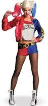 Luxe Harley Quinn - Suicide Squad™ kostuum voor vrouwen - Verkleedkleding - Maat S