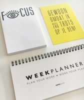 KEEP YOUR FOCUS PLANBOEK-PAKKET!