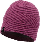 Buff Knitted & Polar Unisex Muts - Purple - One Size