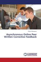 Asynchronous Online Peer Written Corrective Feedback