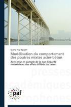 Mod�lisation Du Comportement Des Poutres Mixtes Acier-B�ton