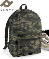 Senvi Rugzak-Backpack Kleur Camouflage 20 Liter Waterbestendig Stof