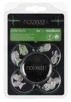 NOIZEZZ Premium festival oordopjes – UITGAAN & FESTIVALS -  incl. 4 maten en bewaarblikje