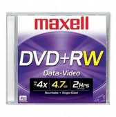 Maxell DVD+RW 4.7GB DVD+RW spindel 10