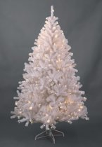 Royal Christmas Maine Kunstkerstboom - 150 cm - Wit - 150 Warm LED Lampjes - 575 Takken