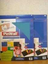 Pinwall Aqua blauw