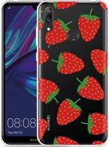 Huawei Y7 2019 Hoesje Aardbei