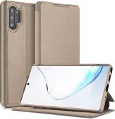 Samsung Galaxy Note 10 Plus hoes - Dux Ducis Skin X Case - Goud